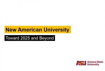 New American University Presentation